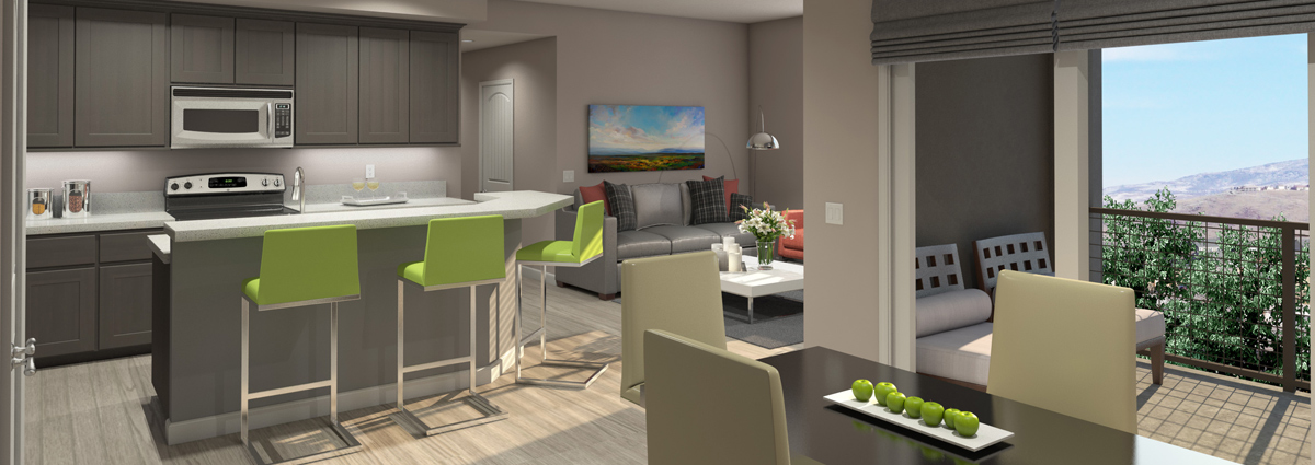 Vineyards at Galleria Apartments Floorplans
